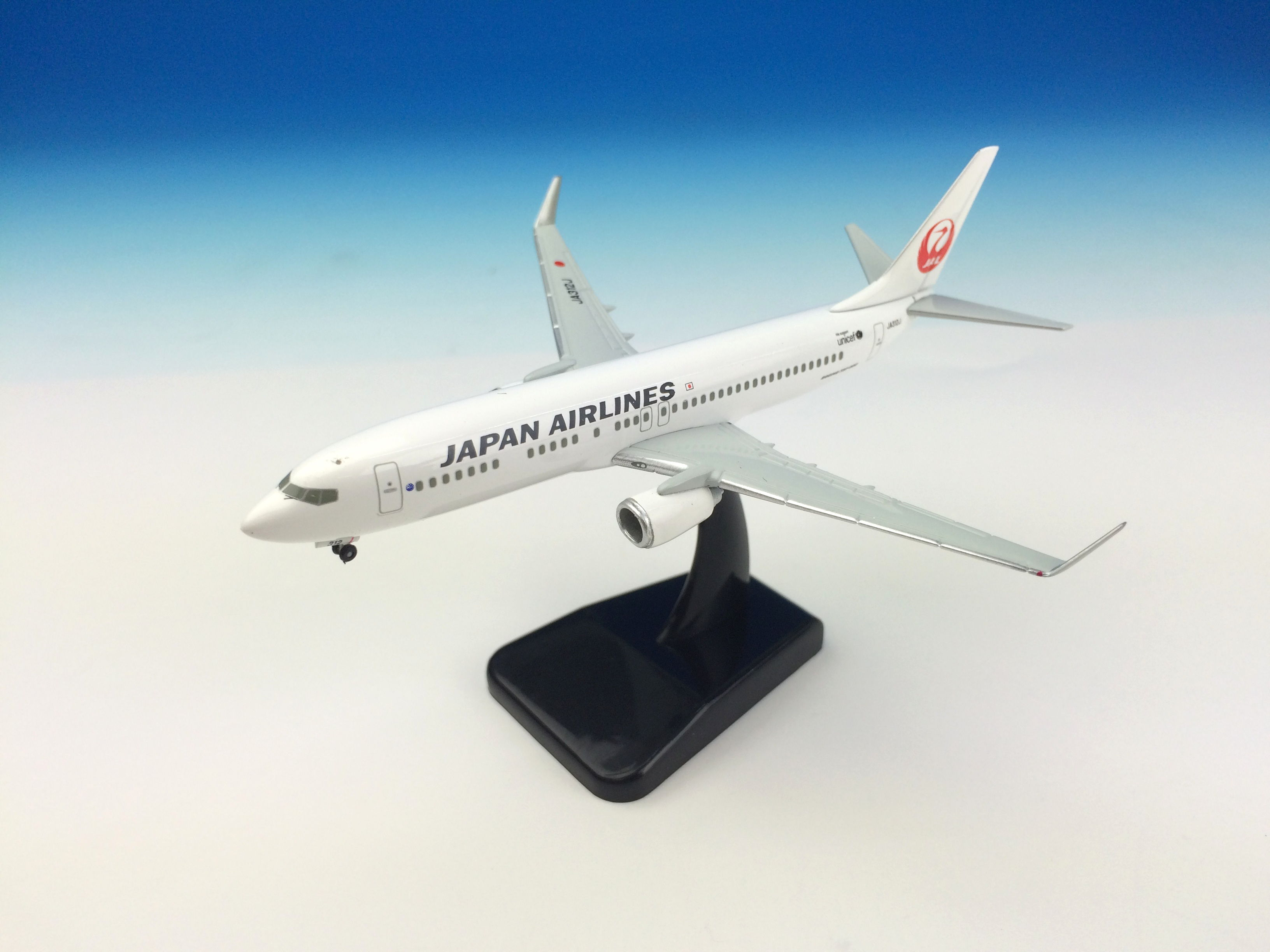 JAL/日本航空 JAL 737-800 1:400 ダイキャストモデル