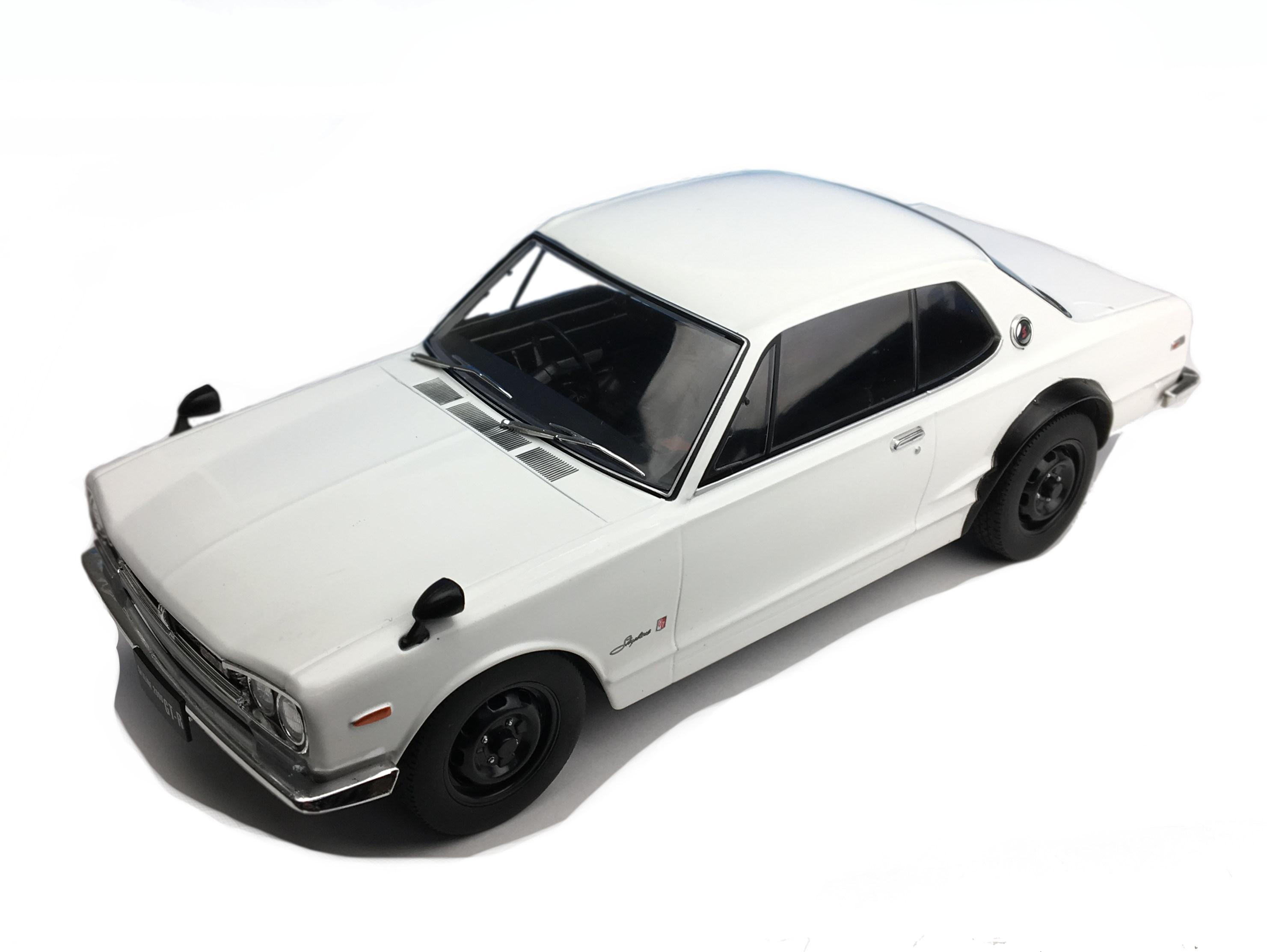 First18/ファースト18 日産 スカイライン GT-R  KPGC10  ホワイト