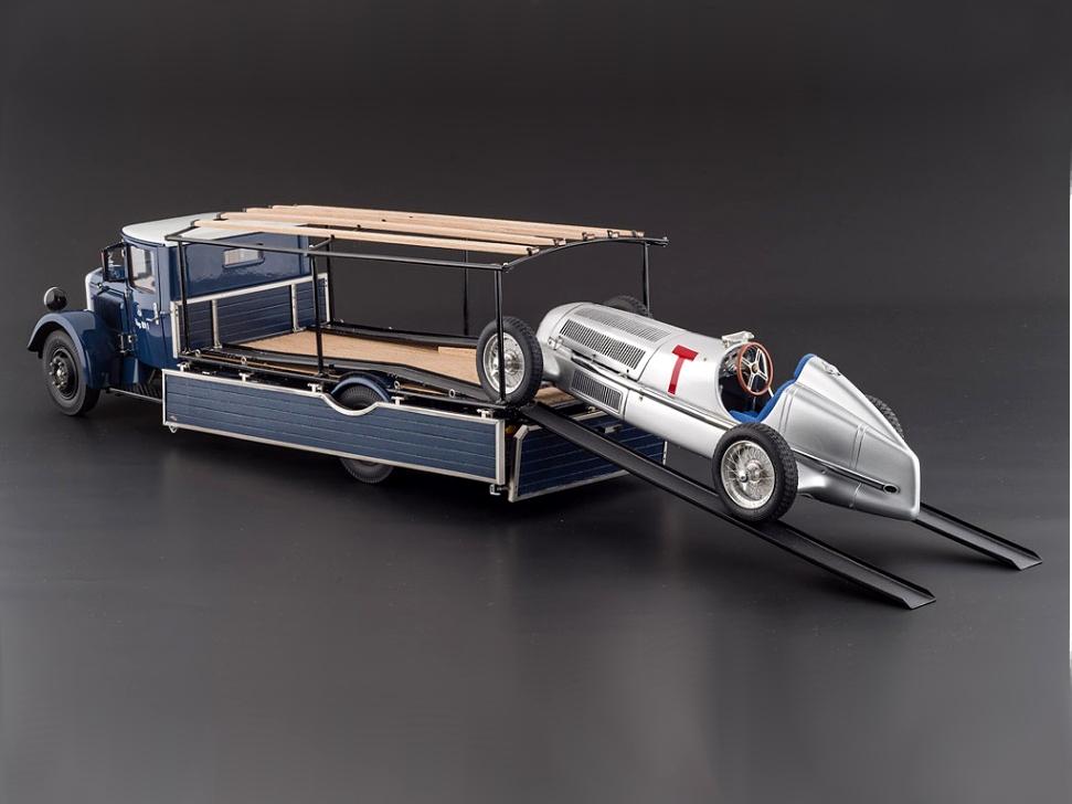 CMC/シーエムシー メルセデス レーシング・トランスポーター LO2750 1934-38+W25