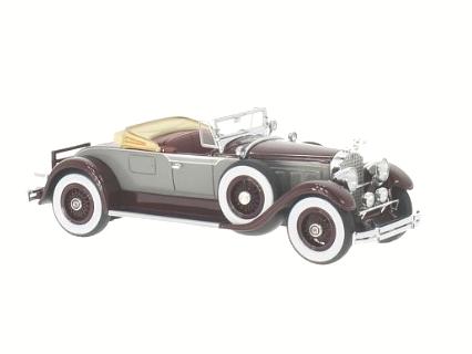 NEO/ネオ パッカード 640 カスタム8 ロードスター 1929 グレー/ダークレッド