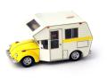 Auto Cult/オートカルト VW ビートル ミニハウス イエロー-ホワイト