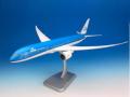 HoganWings/ホーガンウイングス KLMオランダ航空 787-9 新塗装 2015 ランディングギア・スタンド付属