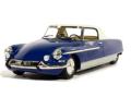 metal-18/メタル18 シトロエン DS21 シャプロン クーペ ル・ダンディ 1965ヘッド&テールライト点灯 ブルー / ホワイト ルーフ