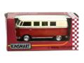 KiNSMART/キンスマート プルバックカー フォルクスワーゲンバス レッド