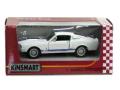 KiNSMART/キンスマート プルバックカー シェルビー 67 GT500 ホワイト
