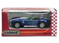 KiNSMART/キンスマート プルバックカー シェルビー コブラ 427 56 ブルー