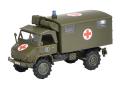 Schuco/シュコー ウニモグ S404 救急車  ドイツ連邦軍