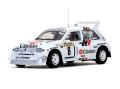 SunStar/サンスター MG メトロ 6R4 - 1986年1000湖ラリー #8 P.Eklund/D.Whittock Clarion