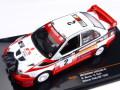 KBモデル(イクソ) 三菱 ランサー カリスマ GT 1998年 グレートブリテンラリー 優勝 #2 R.バーンズ