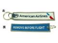 Kool Krew/クールクルー キーチェーン アメリカン 「 REMOVE BEFORE FLIGHT」