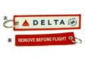 Kool Krew/クールクルー キーチェーン デルタ 「 REMOVE BEFORE FLIGHT」