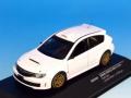 ixo/イクソ スバル・インプレッサ WRX STI 2011 ラリー仕様 ホワイト