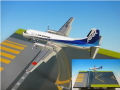 ANA/全日空商事 YS-11A ANK JA8772 フラップダウン 丘珠 RWY32 ベース付