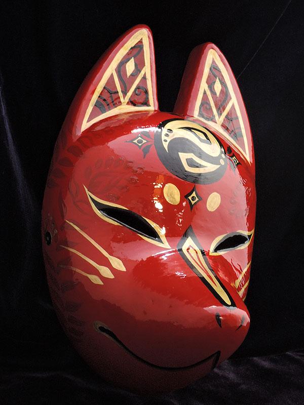 狐面「鳳凰」