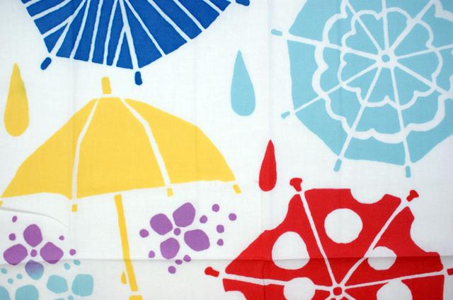 kenema 気音間手拭い 雨降り