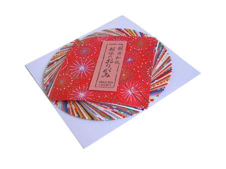 越前和紙 折り紙 10×10cm