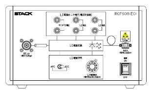 高周波光変換(ROF)伝送実験用実習装置 10MHz-1.6GHz【RoHS】 ROF908