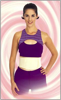 磁気健康腹心サポーター「ナックバン」Lサイズ(遠赤外線放射布使用タイプ)の画像