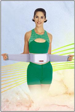 磁気健康腹心サポーター「ナックバン」(トルマリン)【送料無料】の画像