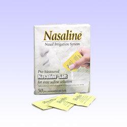 ナサリン鼻腔洗浄器セット用 医療用無添加塩(50包)★花粉症の画像