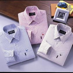 【長袖Yシャツ】トム・モリス 高級エジプト綿 メンズシャツ3色組【送料無料】の画像