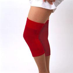 就寝用の膝ケアサポーター『星虎の赤ひざ先生』2枚組(M?LL)の画像