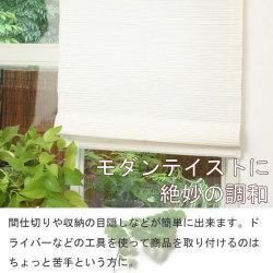 【メーカー直送・代引不可】マジックシェード88×180cm☆モダンテイストに絶妙の調和の画像