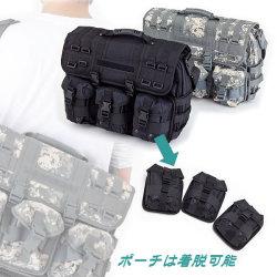 タクティカル2WAYコンパートメントバッグ【送料無料】☆ミリタリースタイル コンピューターブリーフケースの画像