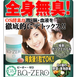 BO-ZERO ビーオーゼロ☆介護の現場から生まれた本格派デオドランサプリメントの画像