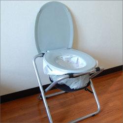 折りたたみ式どこでもトイレ☆防災グッズ 簡易トイレ 災害用トイレ 非常用トイレ アウトドア 非常用 現場に便利の画像