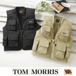 トムモリス 13ポケット多機能ベスト ☆ 大容量収納と使いやすさ抜群のデザイン!の画像