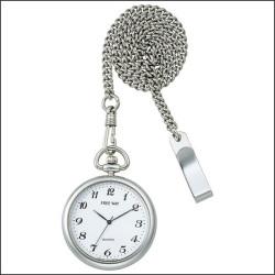 シチズン FREE WAY ポケットウォッチコレクション 懐中時計 AA92-3571I☆文字盤がくっきり見やすい懐中時計!の画像