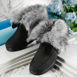 防寒アラスカブーツ2Wayショート&ボア☆体温を反射し蓄熱するあったかブーツ!2Wayで履き方二通り!☆ぽっかぽかの画像