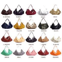 ベルル 2WAYショルダーバッグ☆カラー18色!まるで真珠のような光沢感の可愛い系バッグ!の画像