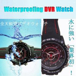 小型カメラ 防水ダイバー型デジタル腕時計(大容量8GB内蔵)【送料無料】☆業界初!水に強いダイバータイプ防水型ビデオカメラ!の画像