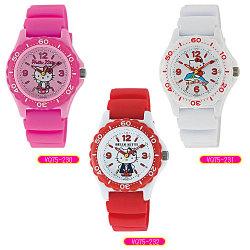 シチズン Q&Q HELLO KITTY ハローキティ VQ75☆大人気のハローキティの腕時計が登場!の画像