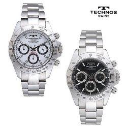 ☆ネット限定価格☆テクノス TGM615(SWホワイト/SBブラック)☆スイスの名門テクノスの贅沢な時計の画像