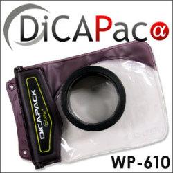 <<完売>>DiCAPacα ディカパック アルファ  WP-610☆今お使いのデジタルカメラを防水カメラに