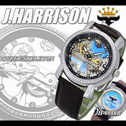 《完売》ジョンハリソン  腕時計 JH-098J.HARRISONらしい、スタイリッシュな時計!