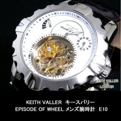 ≪完売≫KEITH VALLERキースバリーEPISODE OF WHEELメンズ腕時計E10☆ロンドンのデザイナー、キースバリー個性溢れるデザイン!