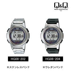 シチズン デジタルソーラー発電・電波時計MHS5-200/MHS5-300☆電池交換不要のソーラーウォッチ【送料無料】の画像