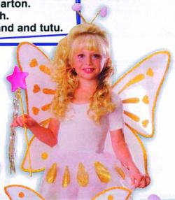 615 Child Accessory - Butterfly Kit【ハロウィン仮装・コスチューム・子供用衣装・コスプレ・天使・エンジェル・妖精衣装】の画像