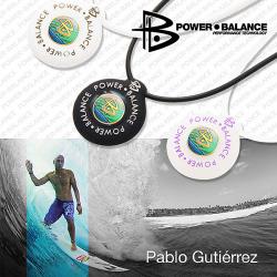 【送料無料】パワーバランス ネックレス POWERBALANCE シリコンネックレス フリーサイズの画像