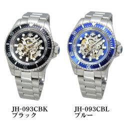 J.HARRISON ジョンハリソン メンズ腕時計 JH-093CBK(ブラック)/JH-093CBL(ブルー)☆J.HARRISON(ジョンハリソン)の最新モデル登場の画像