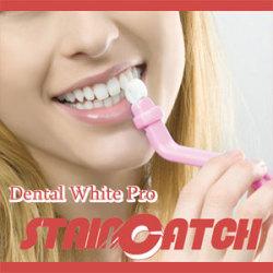 デンタル ホワイト ステインキャッチ【スティック3本メラミンフォーム50個入】☆歯の表面に付着したステイン汚れを簡単、キレイに。の画像