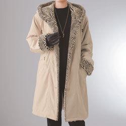 ファー使いフードコート☆ゴージャスな雰囲気を奏でるファー使いが魅力☆ぽっかぽかの画像