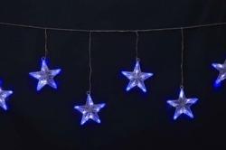LEDPVCプレイライト 8スター【送料無料】☆アウトドア対応クリスマスイルミネーションの画像