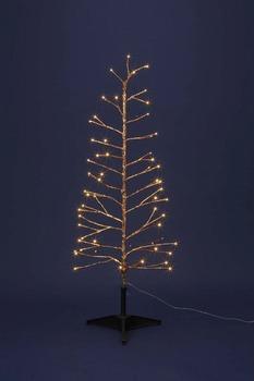 LEDゴールドツリー120【送料無料】☆クリスマスイルミネーション・お庭や玄関先のデコーレーションにの画像
