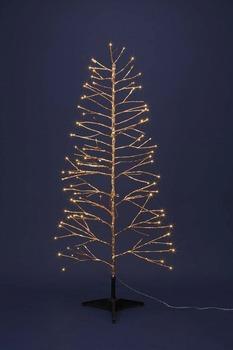 LEDゴールドツリー150【送料無料】☆クリスマスイルミネーション・お庭や玄関先のデコーレーションにの画像