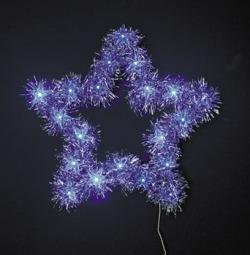 LEDティンセルスター ブルー☆クリスマスイルミネーション・お庭や玄関先のデコーレーションにの画像